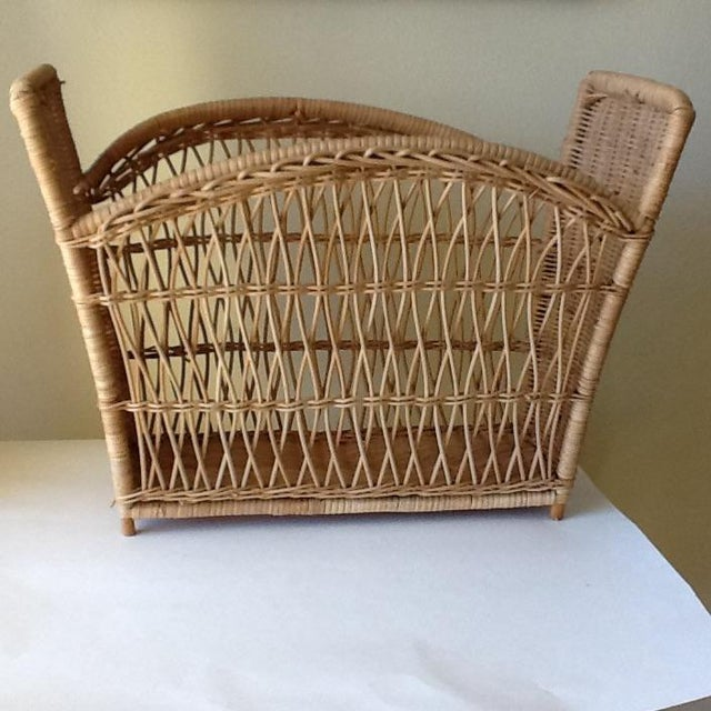 Natural Wicker File Basket - Image 3 of 8