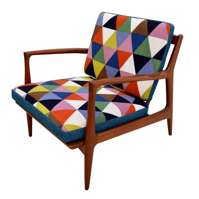 Vintage Danish Mid-Century Teak Lounge Chair - Image 6 of 10
