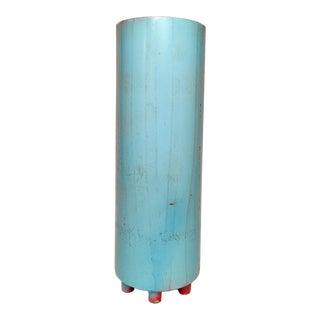 Repurposed Fire Extinguisher Vase