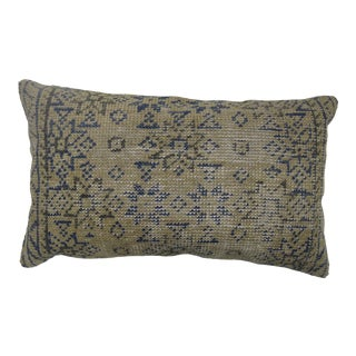 Oushak Floor Rug Pillow