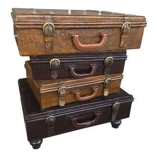 Stacked Briefcase Chest of Drawers