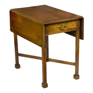 Walnut Chippendale Pembroke Table