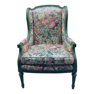 Vintage Louis XVI Wingback Chair