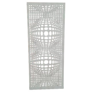 White Decorative Wall Panel Room Divider