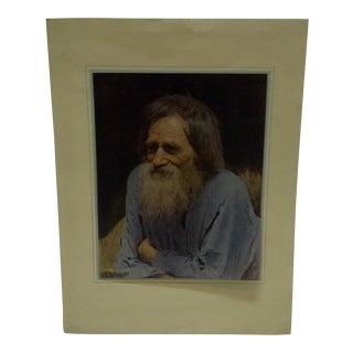 "Original Portrait of ""Ivan Kramskoi"""