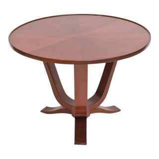 Late Art Deco Mahogany Occasional Table