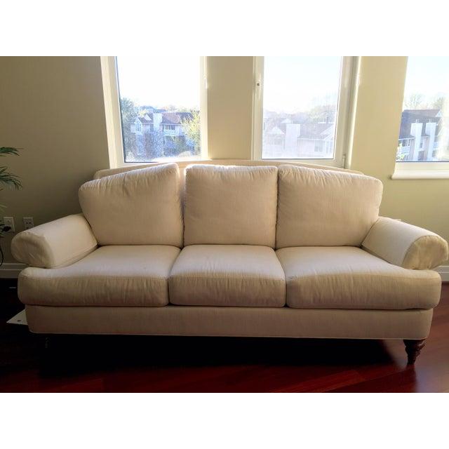 Ethan Allen Three-Seater Sofa - Image 2 of 3