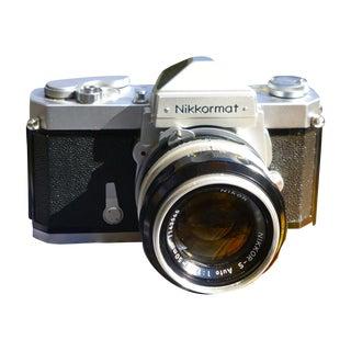 Vintage Nikon Nikkormat Ft Camera With Case