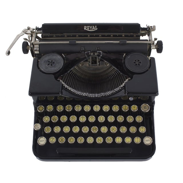 Image of Royal Portable Typewriter