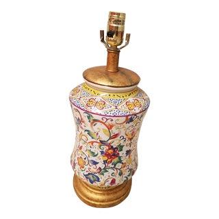 Fredrick Cooper Italian Ceramic Table Lamp