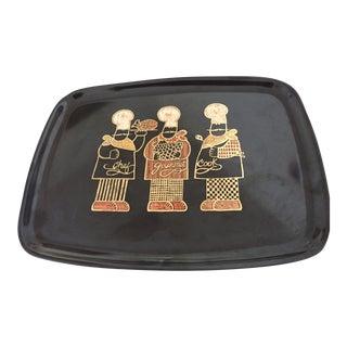Black Couroc Chef Tray