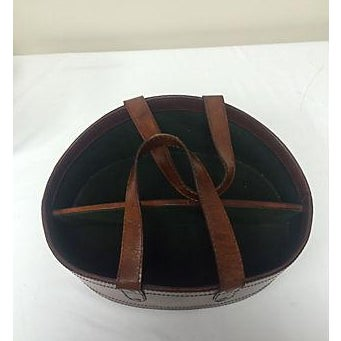 Image of Rustic Leather Wine Tote