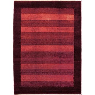 """Indian Hand-Knotted Loribaft Rug - 5'7""""x 7'9"""""""