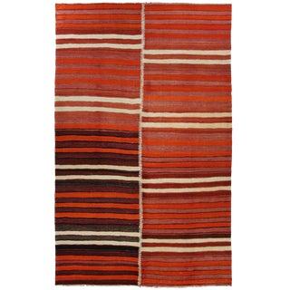 Vintage Turkish Kilim | 6'6 x 11'2 Flatweave