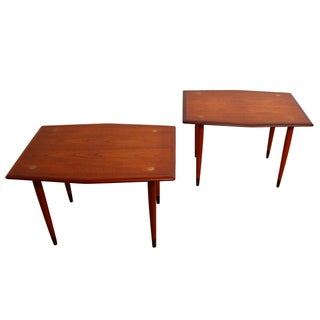 Dux Hexagonal Shaped Accent & Side Tables