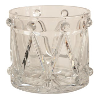 Crystal Drum Champagne Bucket