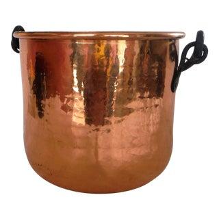 Hammered Copper Planter