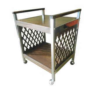 Vintage 2-Tier Bar Cart