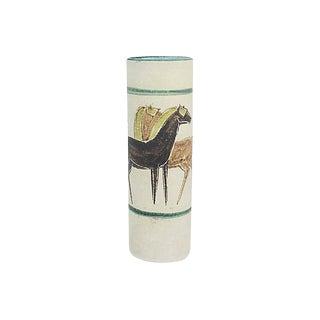 Italian Art Pottery Vase