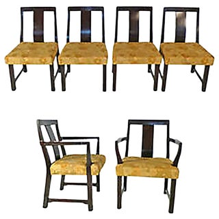 6 Edward Wormley Dining Chairs