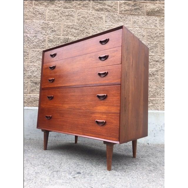 Image of Peter Hvidt Danish Modern Dressers - A Pair