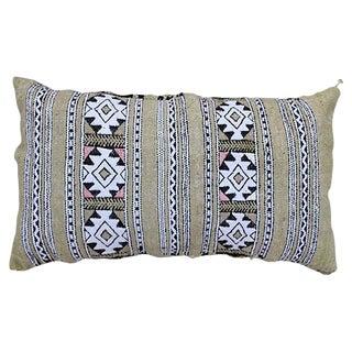 Moroccan Green Berber Pillow