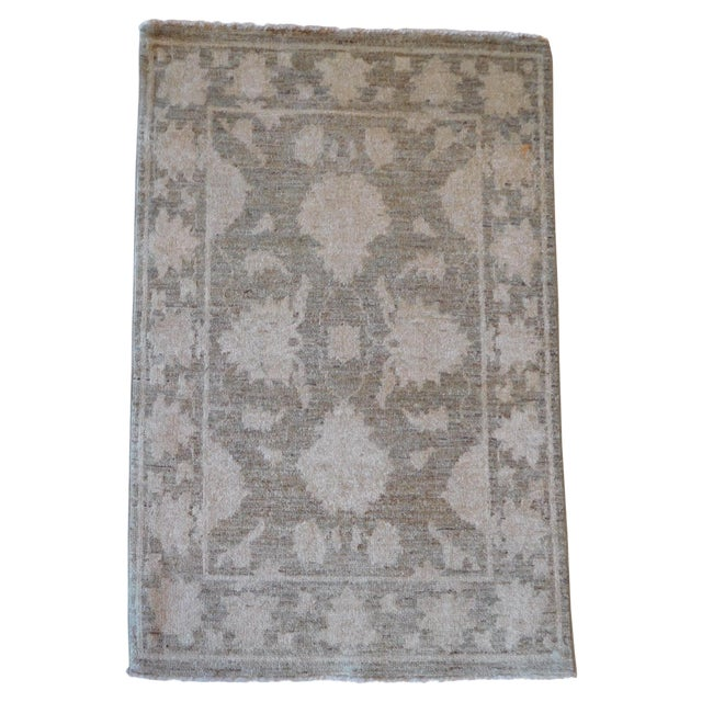 Hand-Knotted Oushak Rug - 2' x 3 - Image 1 of 7