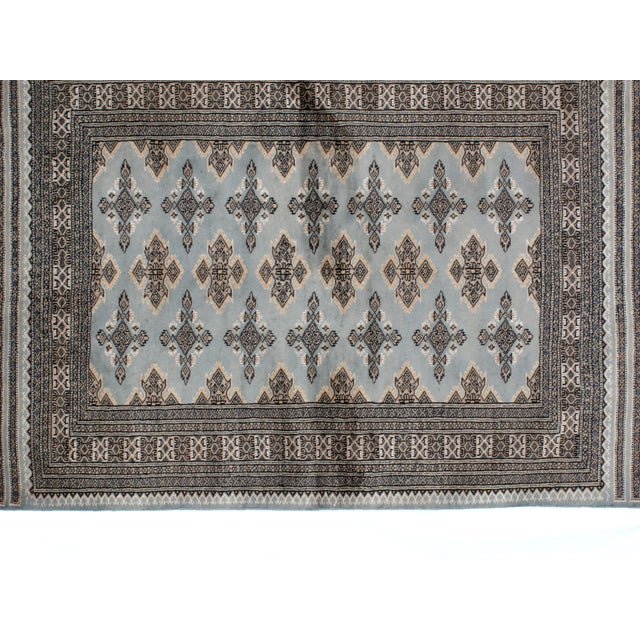 "Leon Banilivi Blue Royal Bokara Rug - 4'1"" X 6' - Image 4 of 7"
