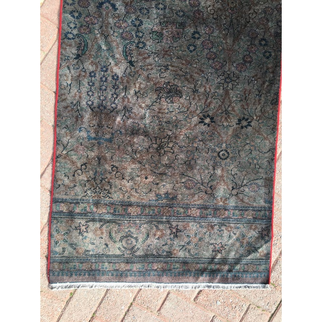Overdyed Turkish Runner Rug - 2′8″ × 12′8″ - Image 6 of 9