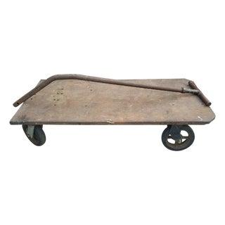 Industrial Old Metal Cart
