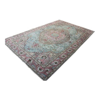 Oriental Turkish Hand-Woven Marmaris Rug - 6.2' x 9.8'