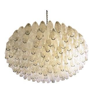 Venini polyhedron chandelier, mid century modern