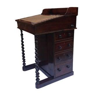 1840's English Regency Davenport Desk Table