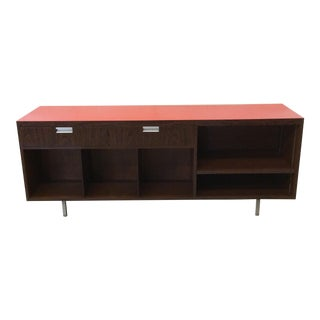 Rosewood Laminate Office Style Credenza