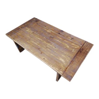 Darvo Reclaimed Wood Rustic Coffee Table