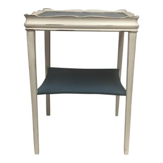 Distressed Painted Side Table