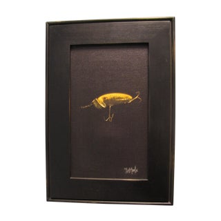 Yellow Lure Print by David Tuck