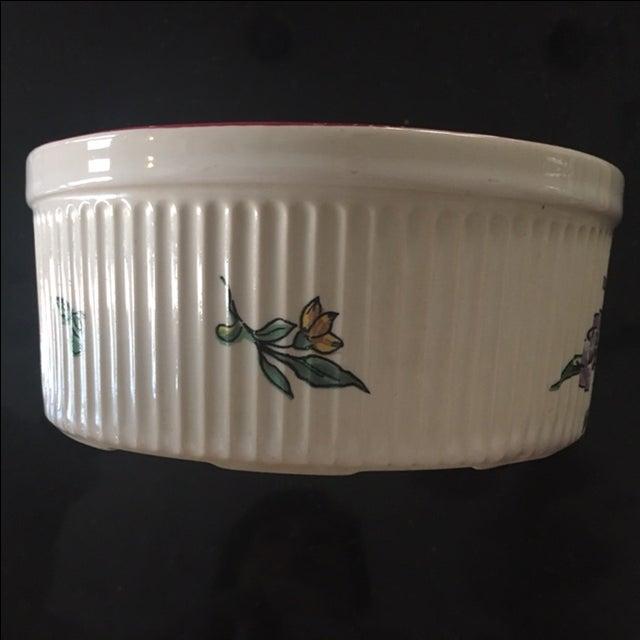 Vestal Porcelain Souffle Bowl - Image 5 of 7