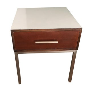 Modern Mix-Toned Nightstand