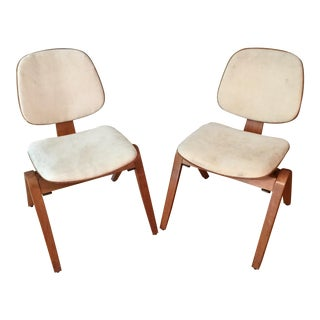 Thonet Joe Atkinson Bentwood Chairs - A Pair