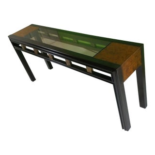 Mid-Century Mastercraft Console Table