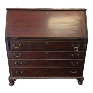 Mahogany Secretary Fall Front Desk