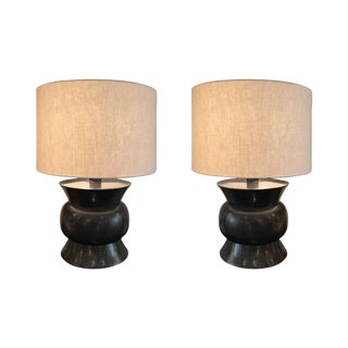 McGuire Zun Table Lamps - A Pair
