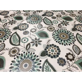 Knoll Luxe Hand Printed Kamani Fabric in Meadow - 3.875 Yards