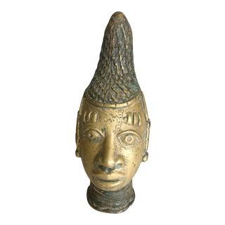 African Benin Queen Mother Head