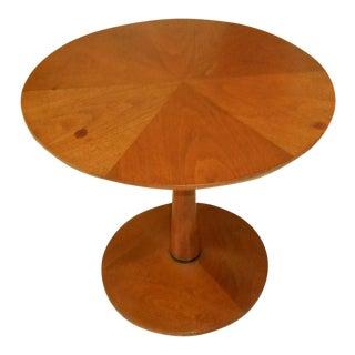 Vintage Kipp Stewart 1960s Drexel Declaration Pedestal Lamp Table
