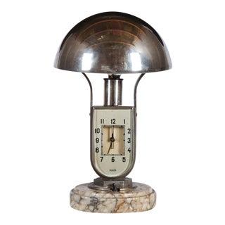 Art Déco Alarm Clock by Mofém, 1930s