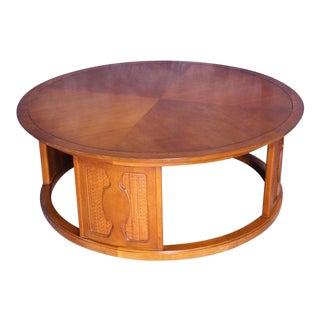 Drexel Walnut Mid-Century Modern Coffee Table