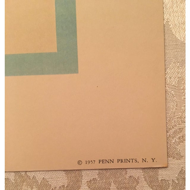 1957 Mid-Century Penn Prints - A Pair - Image 5 of 5
