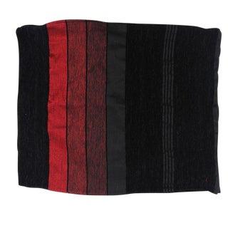 Moroccan Black & Red Sabra Pillowcase - A Pair